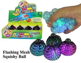 34301 Meshy Ball Glitzer mit Licht
