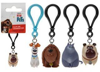 34500 PETS 3D Tier-Schlüsselanhänger
