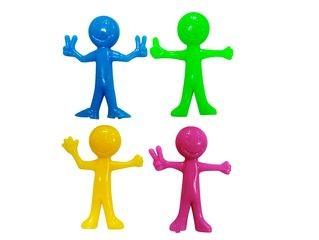 34777  BE HAPPY STRETCHY-FIGUR,