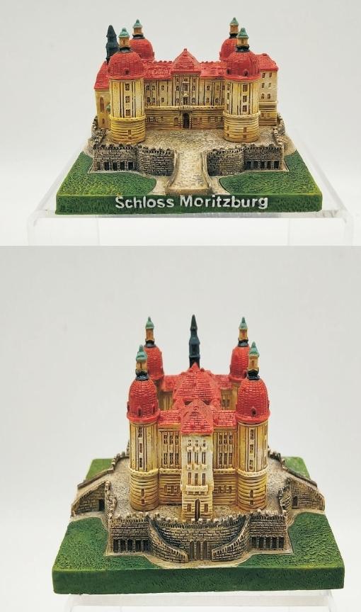 35201 Schloß Moritzburg 11x7x6cm