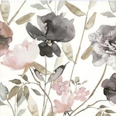 42805 Servietten Viola Fiori Vintage