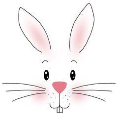 42835 Atelier White Bunny 33x