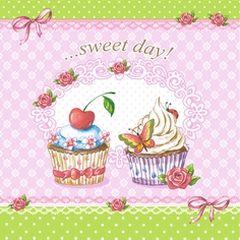 42852 Servietten  Sweet Day