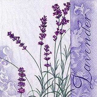 42940 Serviette Scent of Lavender