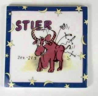 43016  Untersetzer Kachel, Stier