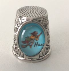 52860 Metal Fingerhut ovales Motiv