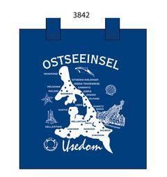 54266 Baumwolltasche Usedom mit