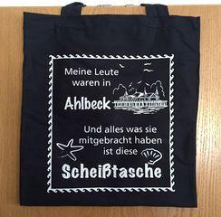 54278 Baumwolltasche Scheiß Ahlbeck