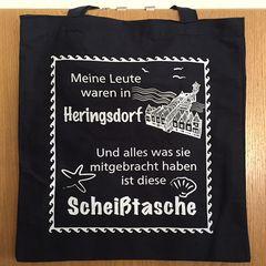 54279 Baumwolltasche Scheiß Herings-