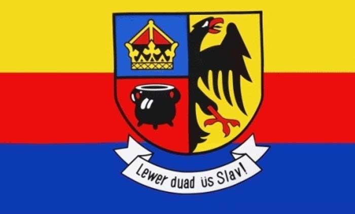 60021 Flagge 90x150cm Nordfriesland