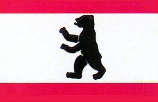 60038  Flagge Berlin 90x150 cm