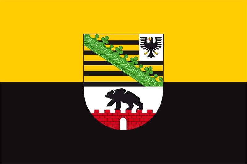 60053  Flagge SACHSEN ANHALT 90x150cm