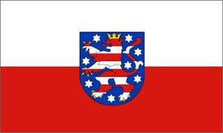 60054  Flagge THÜRINGEN 90x150cm