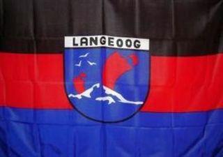 60091  Langeoog Flagge 90x150cm