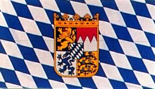 60101  Stockfl.Bayern, genäht,30x45cm