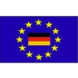 60109 Stockflagge Europa mit BRD +
