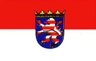60128 Stockflagge Hessen 30x45cm