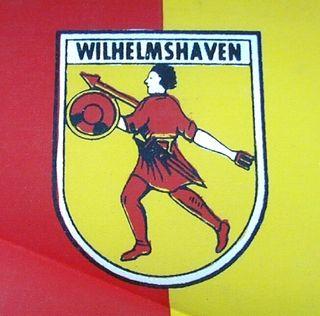 60134 Stockflagge Wilhelmshaven