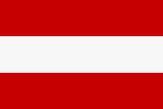 60176 Stockflagge ÖSTERREICH 30x45cm