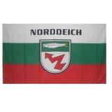 60200 Stockflagge Norddeich mit