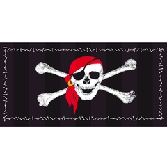 61227 Badetuch Pirat 75x150cm