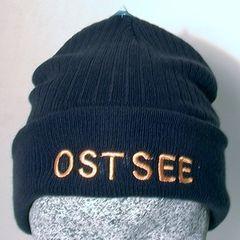 63081 Strickmütze blau OSTSEE