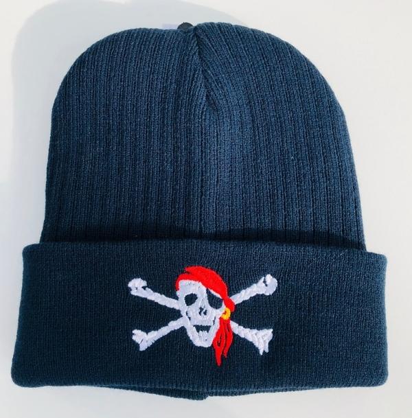 63084 Strickmütze Parka Piratenkopf