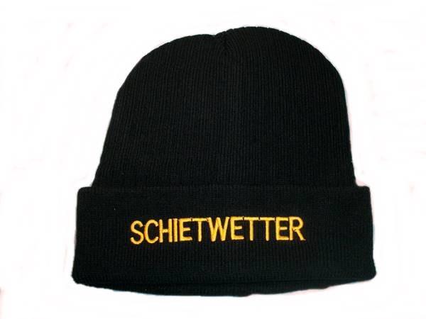 63108  Strickmütze Schietwetter Schwarz
