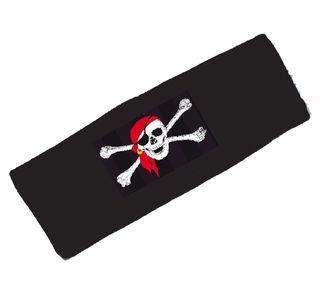 64152 Stirnband mit Piratenkopf