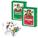76106 Kartenspiel ROMME Jokerkarten