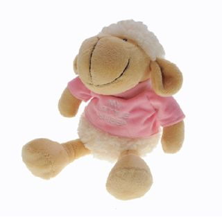 77306 Schaf Rose T-Shirt 17cm