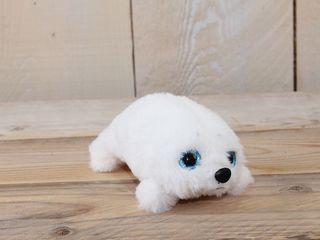 77415 Plüsch Seehund Weiss