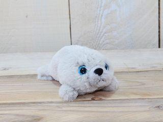 77416 Plüsch Seehund Grau