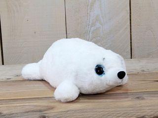 77417 Plüsch Seehund Weiss