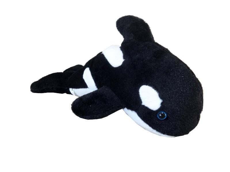 77500 Orka schwarz und weiß 33cm